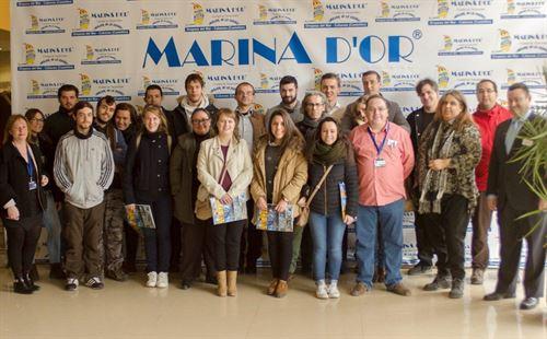 La Escuela de Hostelería de Castellón visita Marina D'Or