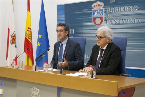 Francisco Martín y Ángel Cuevas en rueda de prensa