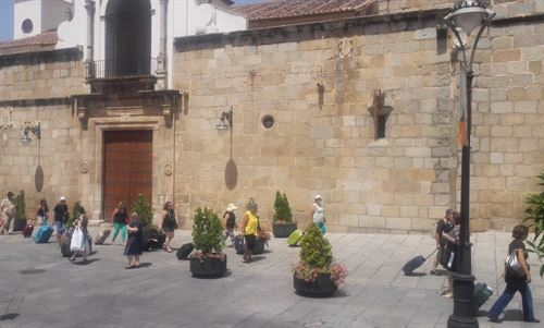 Turistas en Mérida