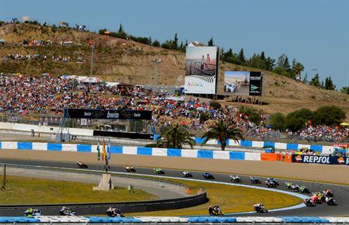 Circuito de motos de Jerez Andalucía turismo puente mayo