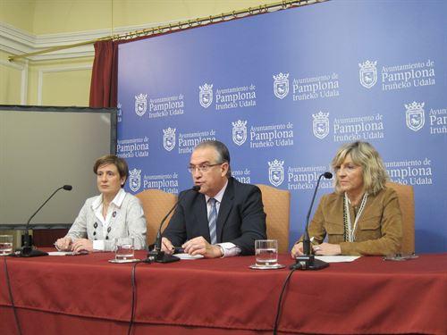 Concejales de UPN en el Ayuntamiento de Pamplona.