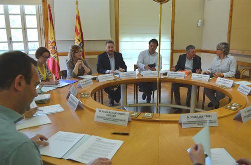 Comisión permanente del Consejo de Turismo de Aragón